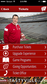 Badger Gameday App Tickets