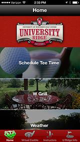 University Ridge App